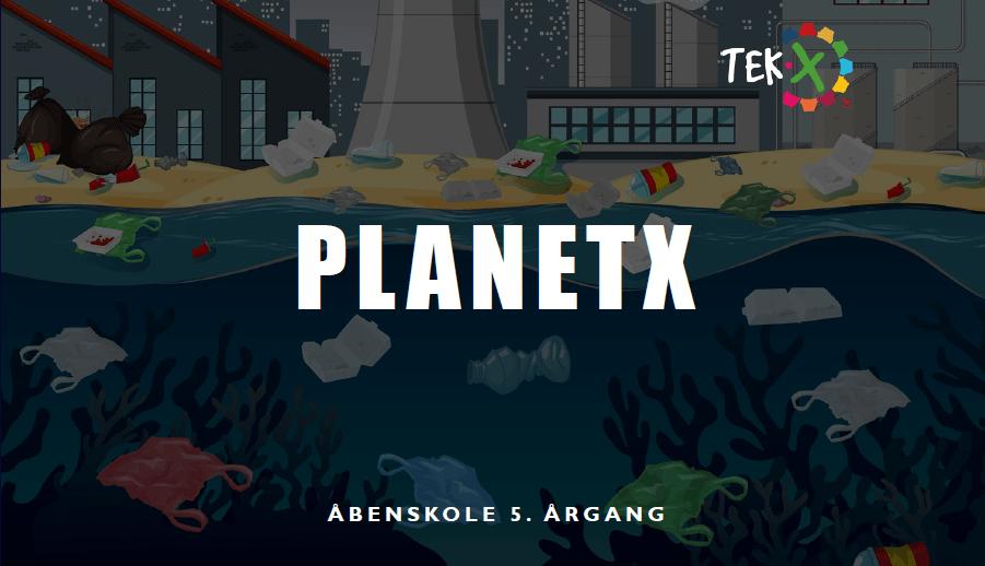 forside 5 årgang PlanetX