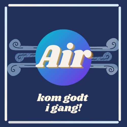 """Logo for """"Air"""" app design"""